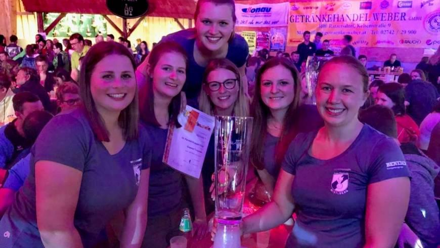 1. Platz beim Kuppel-Cup in Bischofstetten