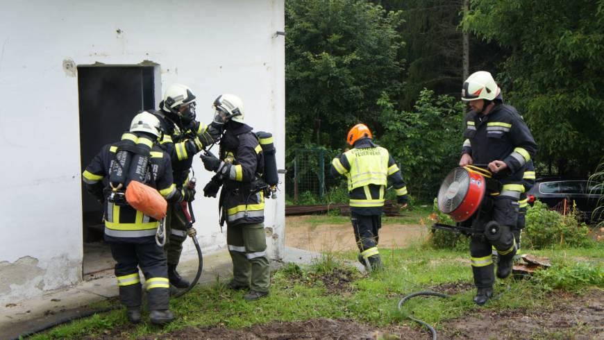 Atemschutzübung FF Hinterberg (17.07.2020)